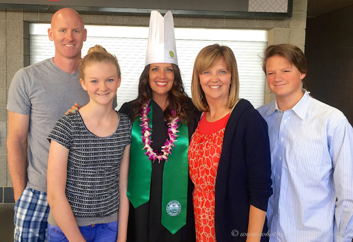 My Culinary Arts Graduation on www.cookingwithruthie.com a dream come true!