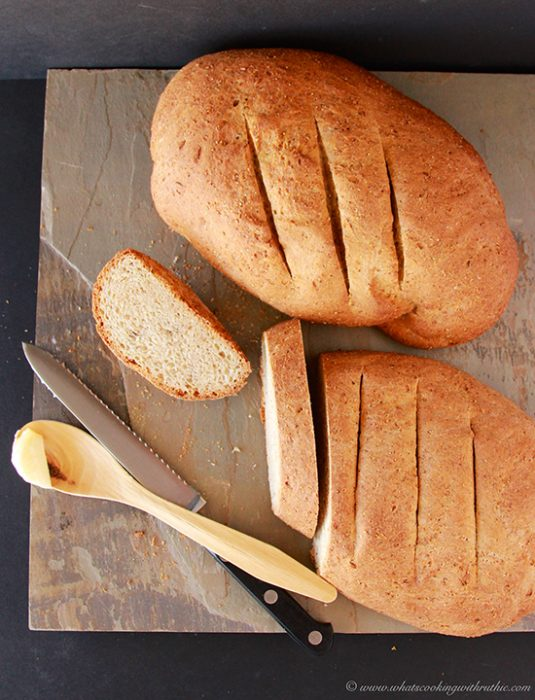 Homemade Rye Bread on www.cookingwithruthie.com will surprise you how easy it is to make at home!