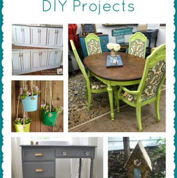 12 Awesome DIY Projects on www.cookingwithruthie.com