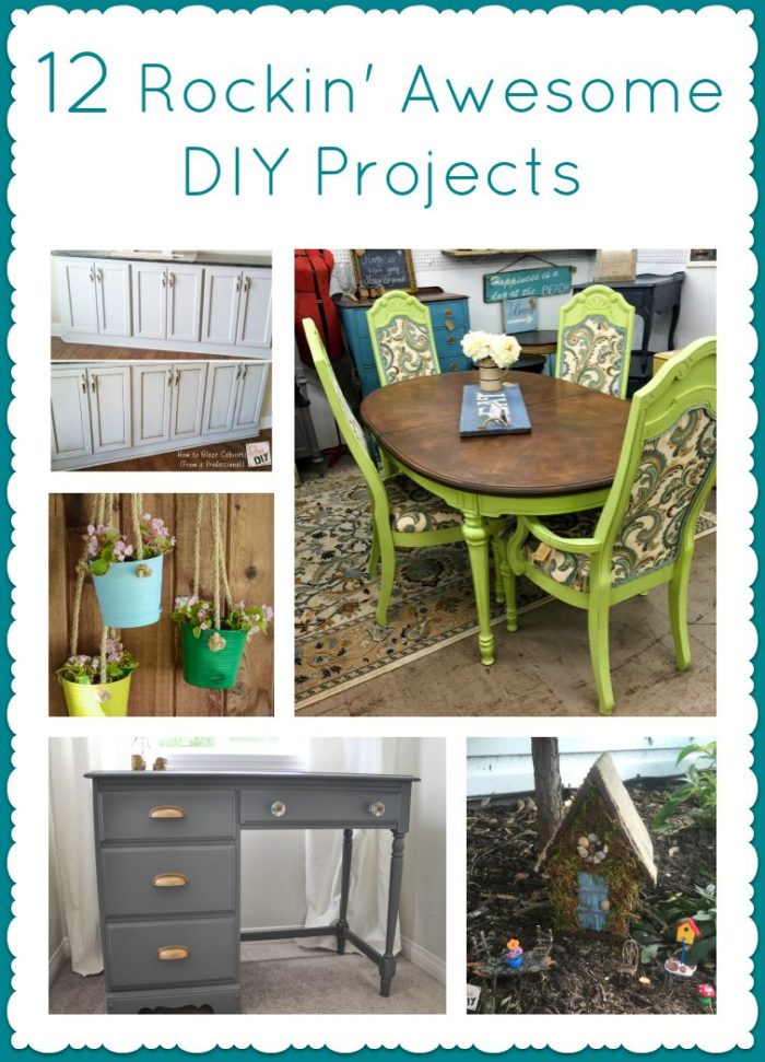 12 rockin 39 awesome diy projects cooking with ruthie for Epic diy projects