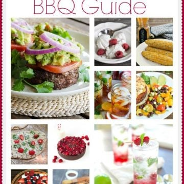 Ultimate BBQ Guide on www.cookingwithruthie.com ideas for all your summertime parties!