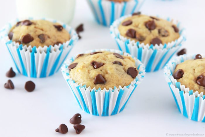 Banana Muffins Using Cake Mix