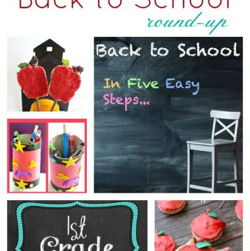 Everything Back to School Round up from www.cookingwithruthie.com