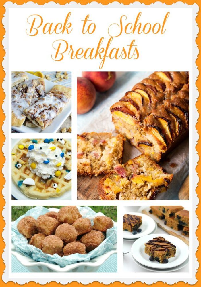 Back to School Breakfasts are worth waking up for!  by www.cookingwithruthie.com