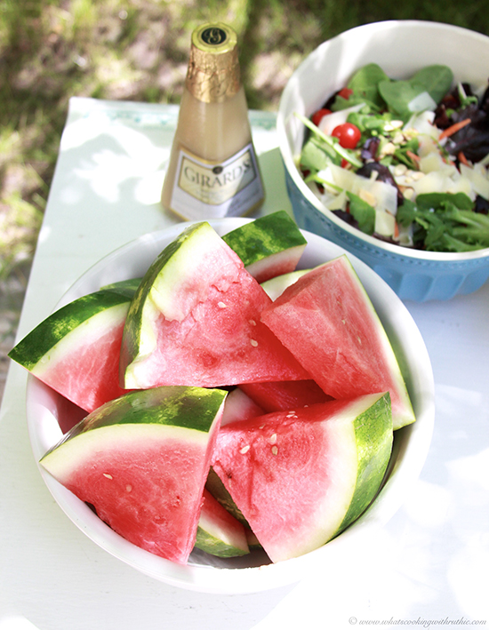 Italian Salad and the Finest Grillathon on www.cookingwithruthie.com #finestgrillathon make your summer grilling an event to remember!