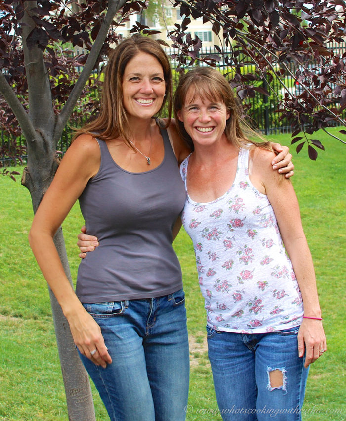 Fit Friday with Nichole and Ruthie on www.cookingwithruthie.com healthy recipes and fitness tips combined!