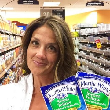 I made it home safe and sound with both my Martha White® and Kroger Selfies! www.cookingwithruthie.com