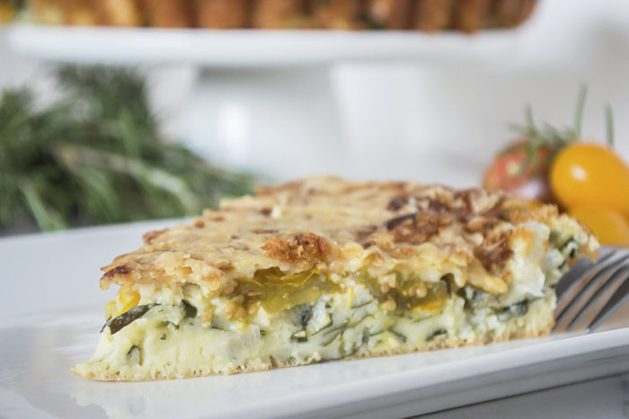 how to make impossible quiche