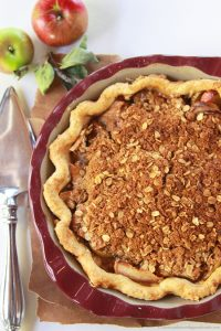 Brown Bag Apple Cinnamon Pie on www.cookingwithruthie.com is the BEST apple pie in the whole world!