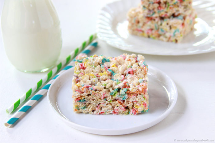 Our Funfetti Rice Krispie Treats Recipe will be your families NEW favorite fruity pebble rice crispy treats microwave style! by cookingwithruthie.com