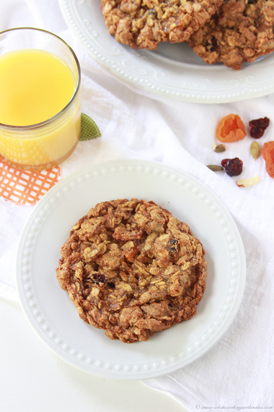 Gluten Free Breakfast Cookie and Fit Friday on www.cookingwithruthie.com