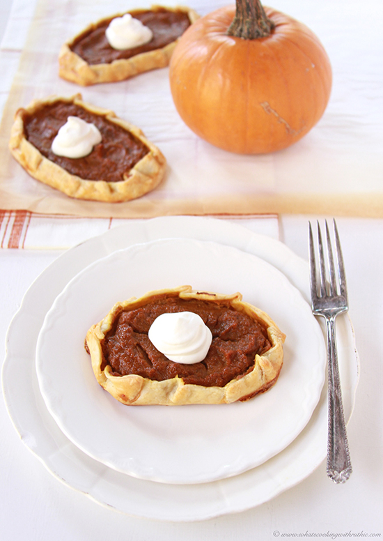 Pumpkin Pie Galette Recipe
