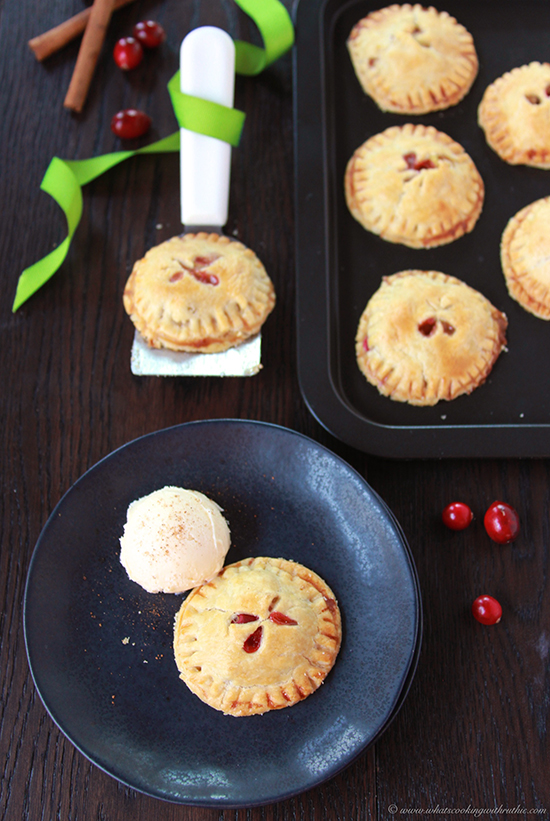 Cranberry Apple Hand Pies - Cooking With Ruthie