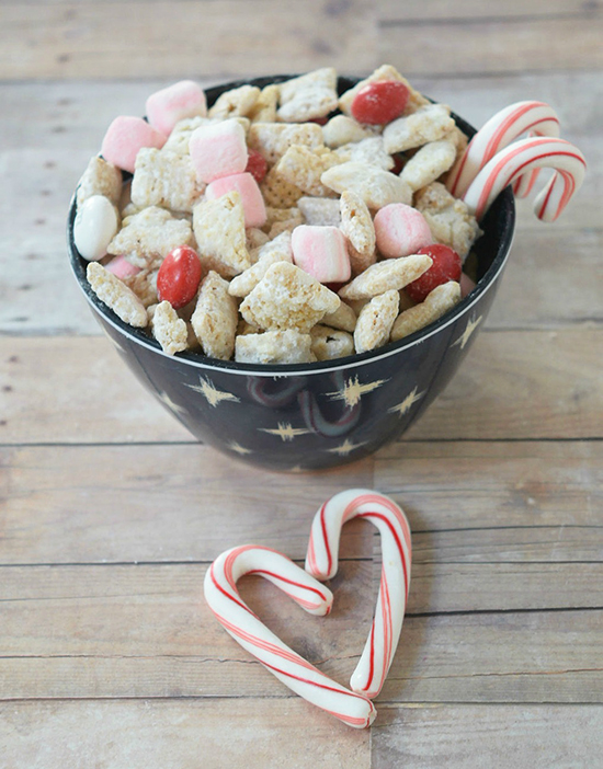 Salted Caramel Snack Mix by www.threekidsandafish.com on www.cookingwithruthie.com will be your kids favorite snack!