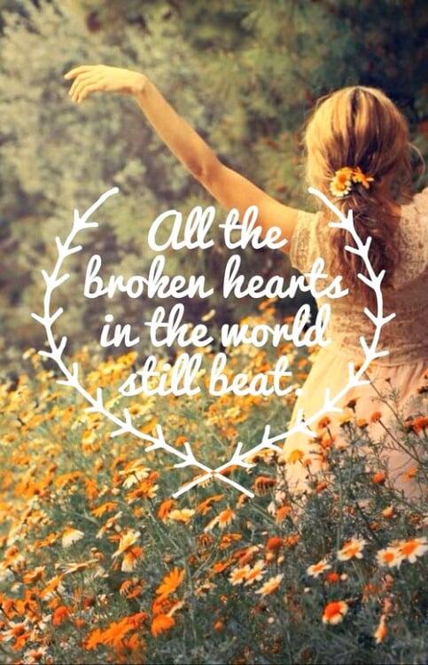 *broken