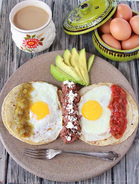 Divorced Eggs and Cancun Trip on www.cookingwithruthie.com eggs two ways with highlights from Cancun!