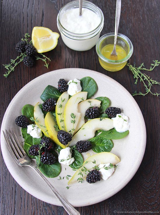 *pear-blackberry-ricotta-spinach-salad 5