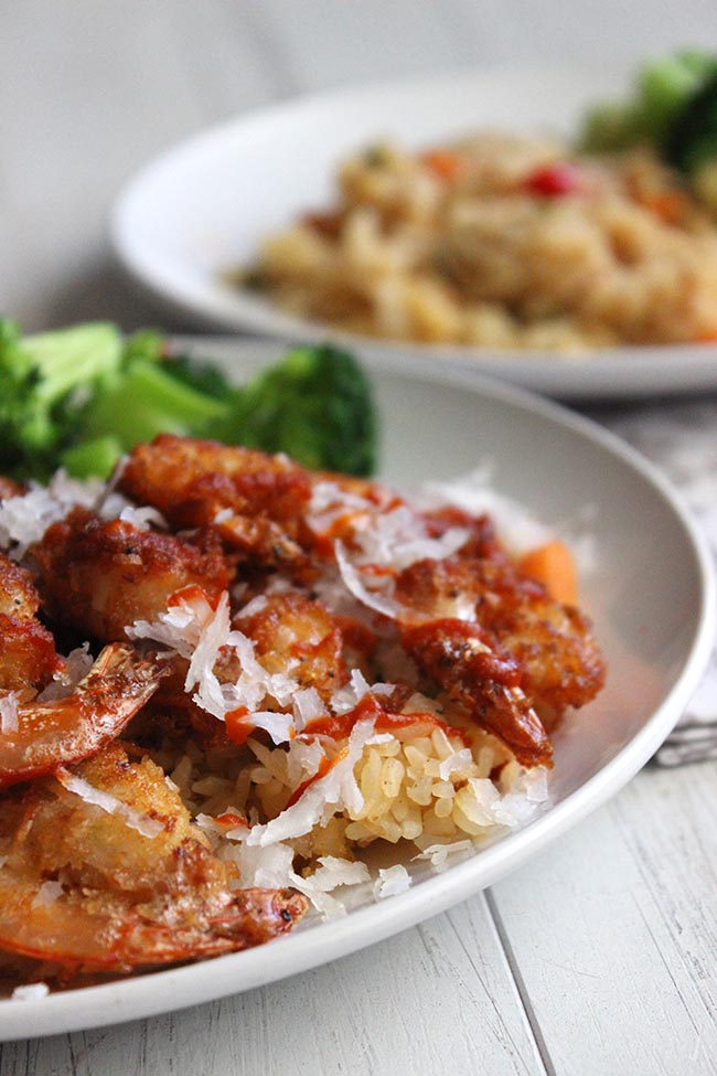 Easy Fried Coconut Shrimp