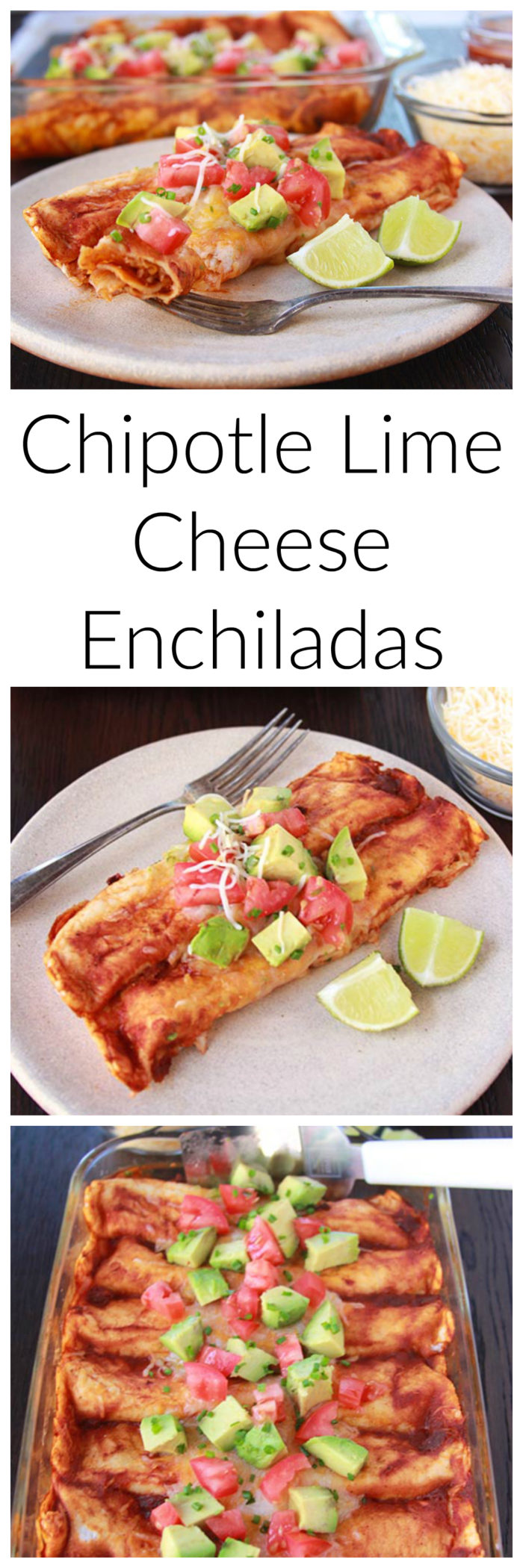 Chipotle Lime Cheese Enchiladas on www.cookingwithruthie.com is a cheesy mexican dinner your family will love! #ad @sargento