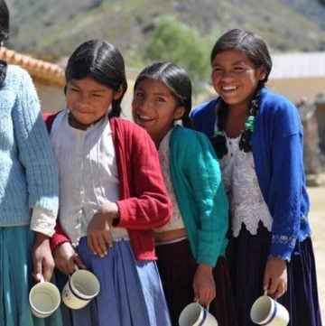 Sharing A Sweet Future~ Truvia® and the United Nations World Food Programme that aims to combat childhood hunger in Bolivia. #truvia #ad #sweetfuture