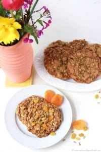 Fruit and Nut Breakfast Cookie on www.cookingwithruthie.com is a healthy way to start the day!
