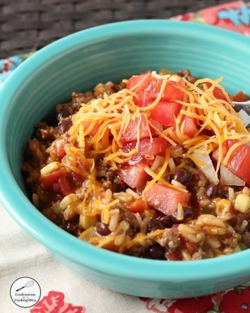 *skillet-mexican-rice-bowl