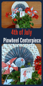 Today I'm sharing one of my favorite tips when I'm planning for a special event…..a quick and inexpensive centerpiece idea. A simple decoration can make a huge difference when setting up a party. #4thofjuly #centerpiece #partyideas    cookingwithruthie.com