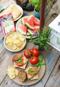 Caprese Grilled Chicken Sandwiches on www.cookingwithruthie.com will quickly turn an ordinary evening into a fabulous outdoor BBQ occasion for your family! #ad @sargento