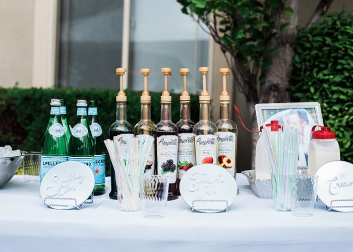 Italian Soda Bar with Amoretti on www.cookingwithruthie.com is the perfect way to celebrate any event in your life!