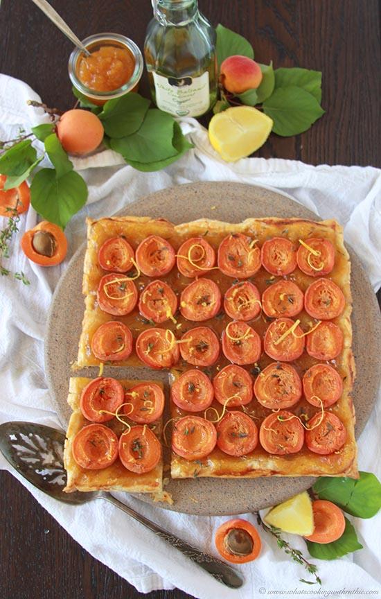 **apricot-thyme-lemon-tart 1