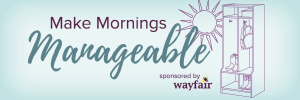 Make Mornings Magic on www.cookingwithruthie.com with recipes and wayfair products! #ad #wayfair