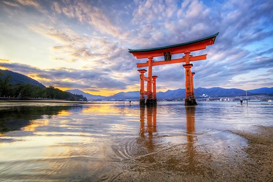 *Itsukushima Shrine