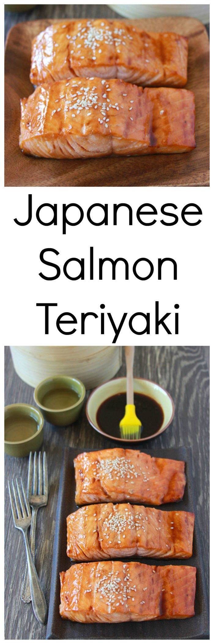 Our Japanese Salmon Teriyaki Recipe is an authentic recipe from Japan it's so simple to make and has such amazing favor~ every bite is rich, buttery, and decadent! by cookingwithruthie.com