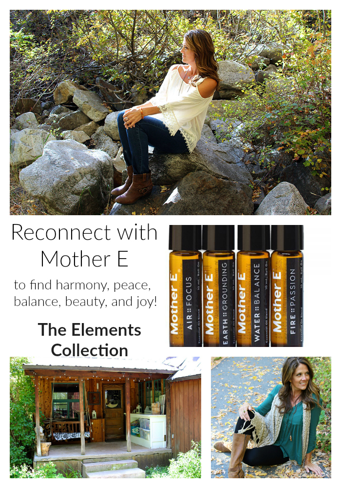 Reconnect with Mother E on www.cookingwithruthie.com sharing my love of nature and Mother E essential oils! #spon #MotherEmoment