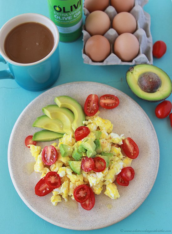 Powerhouse Breakfast on www.cookingwithruthie.com a keep-you-full, healthy way to start the day!