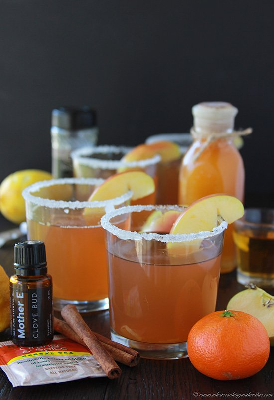 Orange Spice Wassail on www.cookingwithruthie.com has all the aromas and the flavors of the holidays! #spon