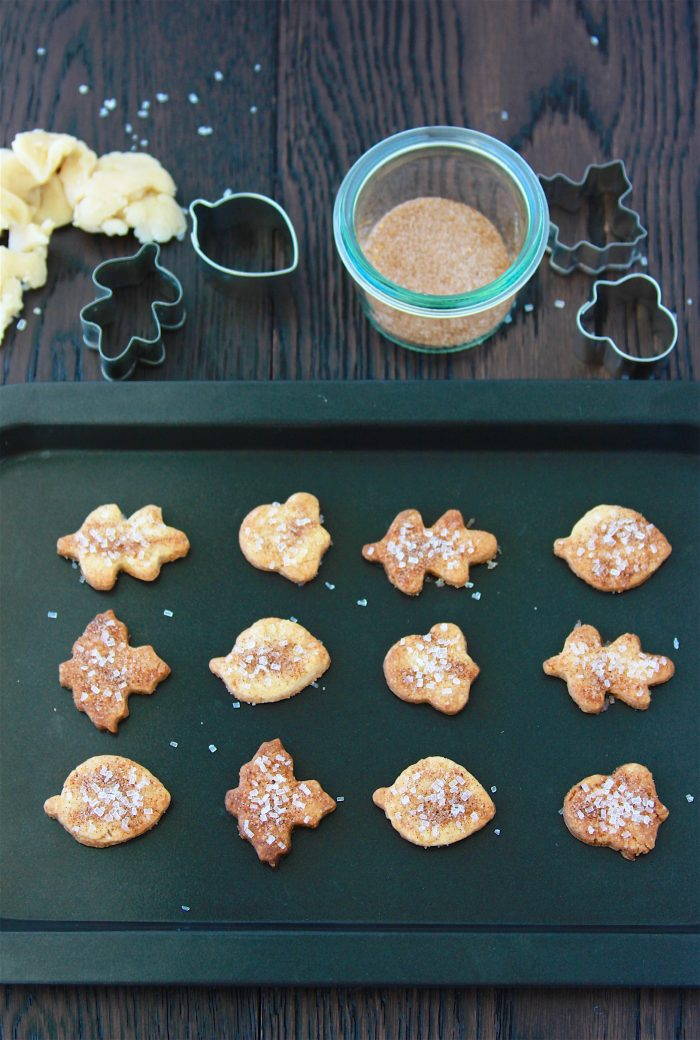 Our Pie Crust Cookies are the perfect solution for your pie crust scraps- they're a lightly sweetened treat that'll keep everyone happy until you serve your delightful pies! by cookingwithruthie.com