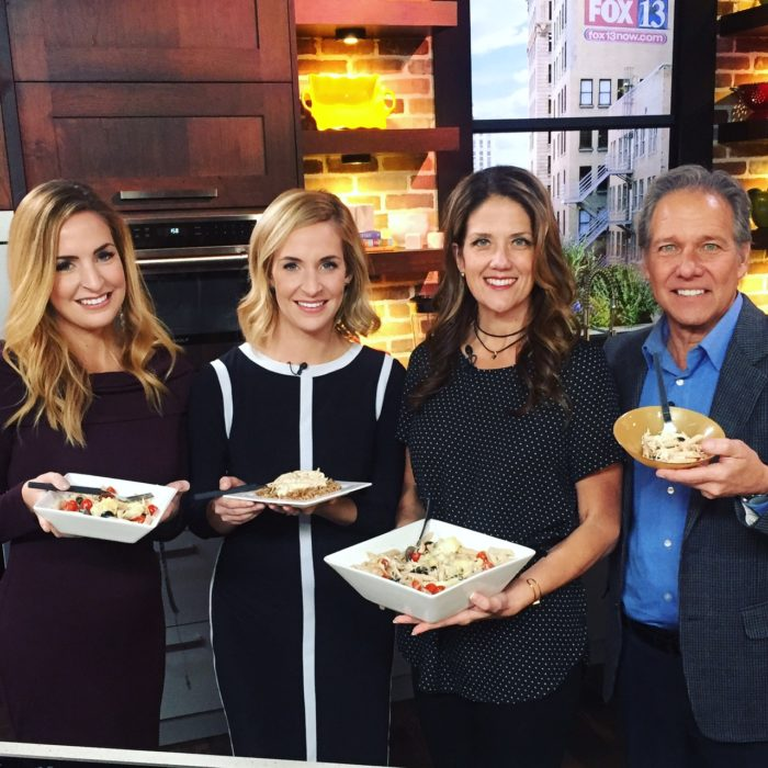 Italian Chicken done two ways on Fox 13 The Place! www.cookingwithruthie.com