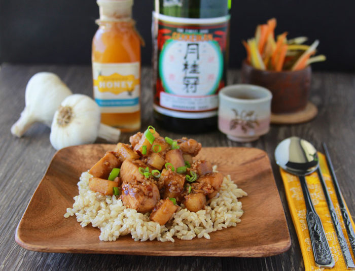 Chinese Honey Garlic Chicken and my experience at the Great Wall of China! www.cookingwithruthie.com