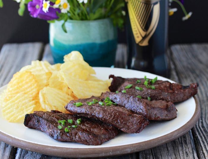 Red Wine Elk Steak 1 1