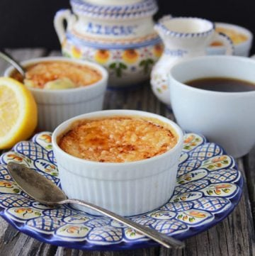 Crema Catalan is a dessert right from Spain and sharing awesome photo's of Spain too! www.cookingwithruthie.com