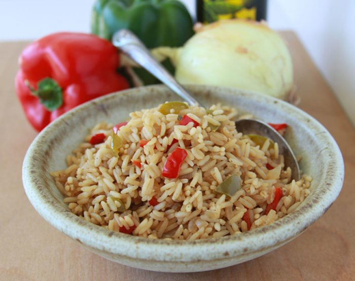 Cuban Rice is a festive side dish for any meal! Plus, more highlights from Spain! www.cookingwithruthie.com