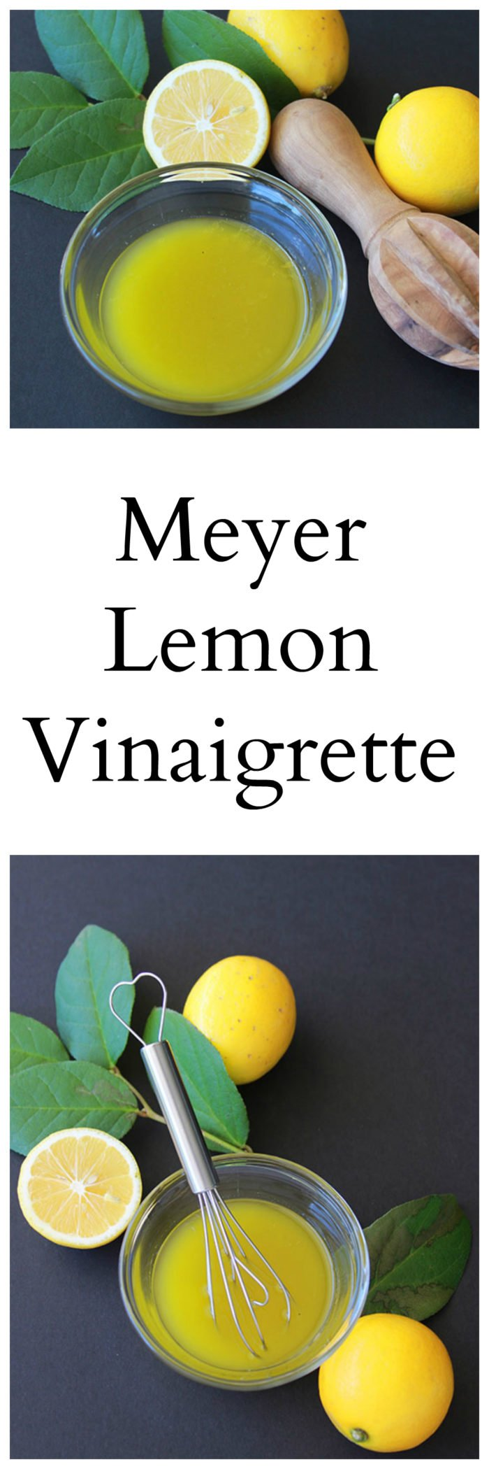 Meyer Lemon Vinaigrette is a light and refreshing dressing for any vegetable! www.cookingwithruthie.com