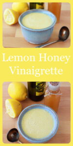 Our Lemon Honey Vinaigrette Recipe is healthy and fabulously simple to make–let's not forget how amazing it tastes! I'm not even kidding when I say that I could drink this salad dressing…. honey lemon dressing is a long time favorite! You'll love it as much as we do. Our honey lemon vinaigrette will be your new favorite excuse to eat all of your veggies! #salad #vinaigretterecipe #saladdressing