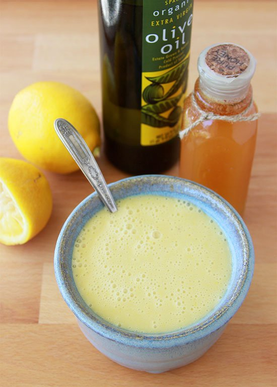 Lemon Honey Vinaigrette is healthy and fabulously tasty! www.cookingwithruthie.com