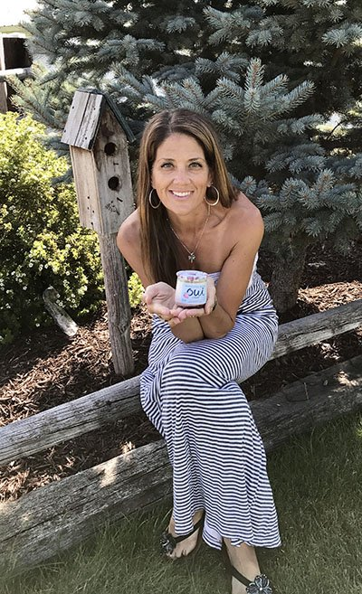 Me-Moment with Oui by @yoplait I love this all new French Style yogurt! Take time out of your busy day for a Me-Moment too! www.cookingwithruthie.com #MeMoment @walmart #spon #OuibyYoplait