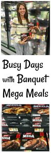 Busy Days are made so much simpler with Banquet @Walmart! www.cookingwithruthie.com #BanquetHangry #ad