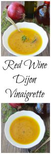Red Wine Dijon Vinaigrette is a lovely way to dress any salad! www.cookingwithruthie.com