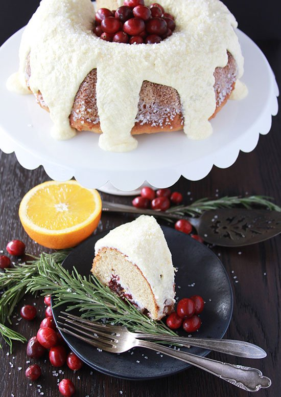 Our Cranberry Orange Coffee Cake Recipe is ever so lovely and will be the star of your holiday breakfast or brunch! by cookingwithruthie.com