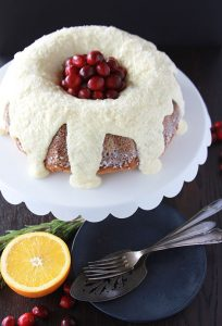 #ad Cranberry Orange Coffee Cake is ever so lovely and will be the star of your holiday breakfast or brunch!@bobsredmill #paperbob www.cookingwithruthie.com